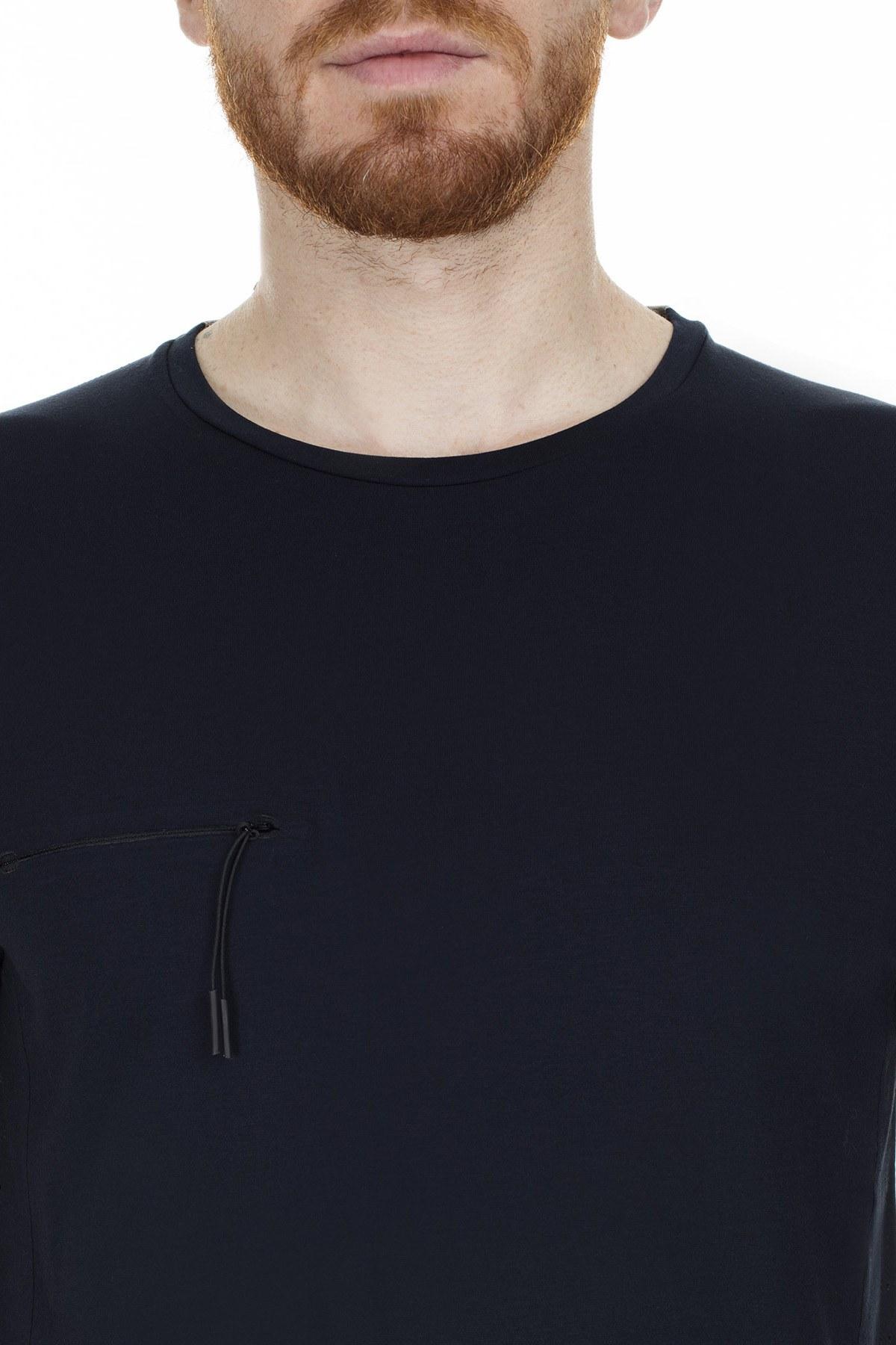 Isaora Slim Fit Erkek T Shirt 5634003 LACİVERT