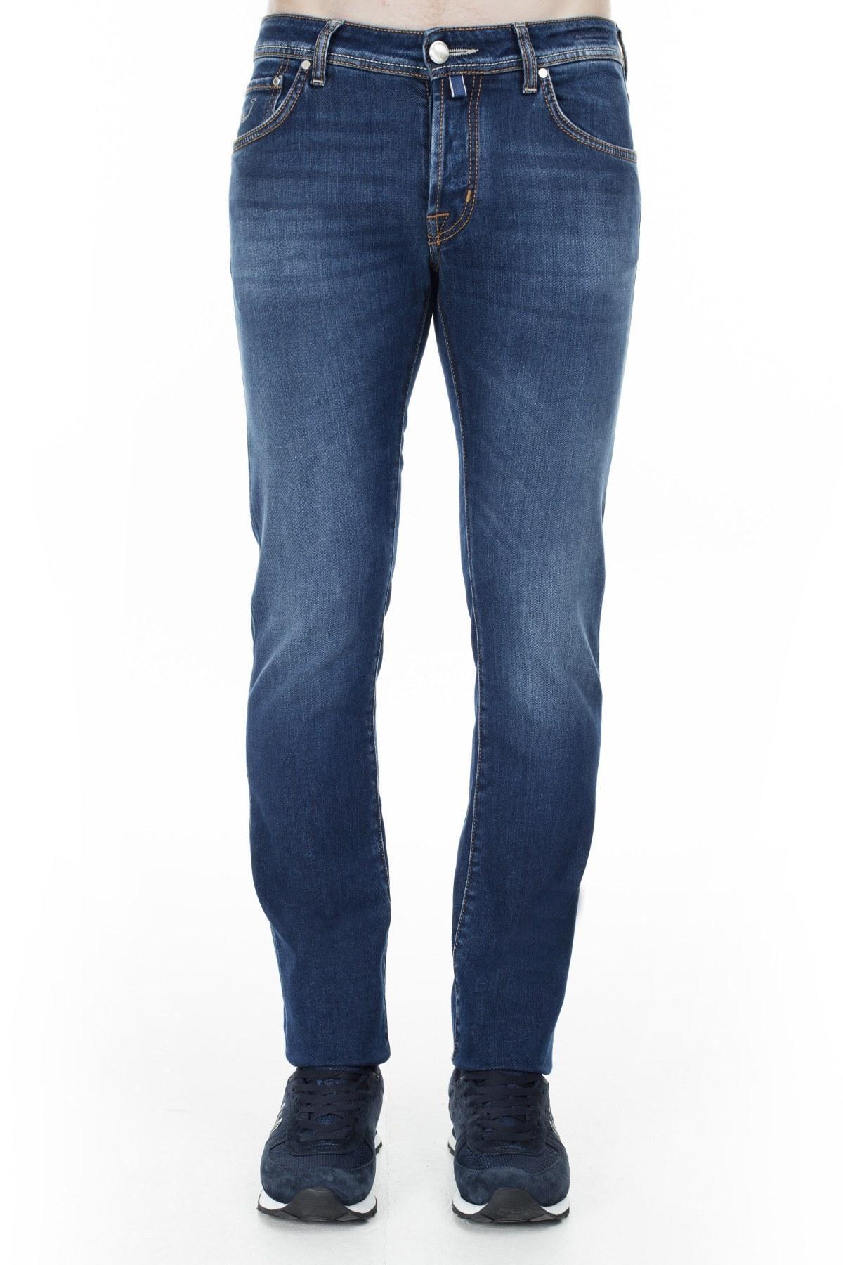 Jacob Cohen Jeans Erkek Kot Pantolon J622 01572W2 5201C 002 LACİVERT