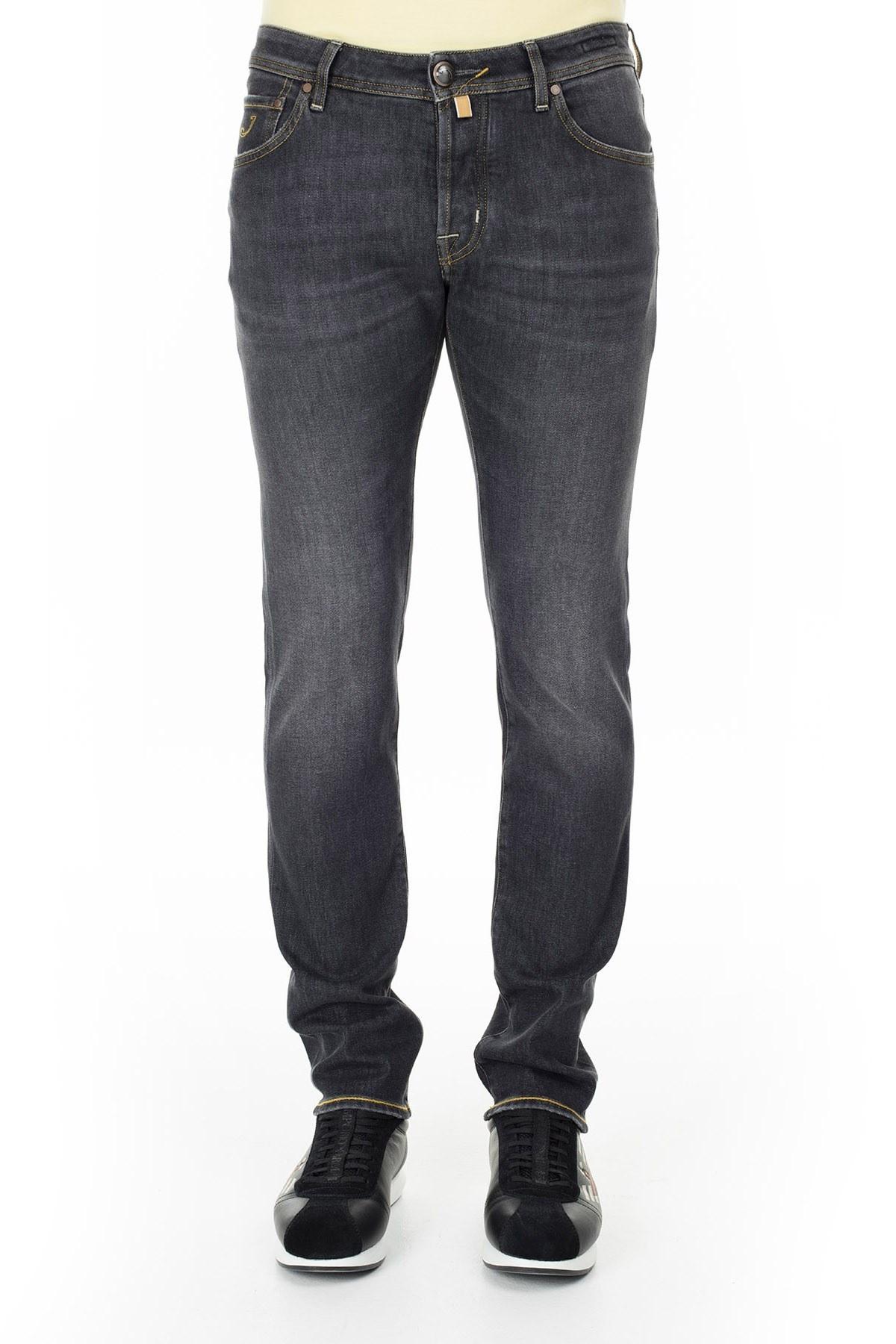 Jacob Cohen Jeans Erkek Kot Pantolon J622 1865W1 001 FÜME