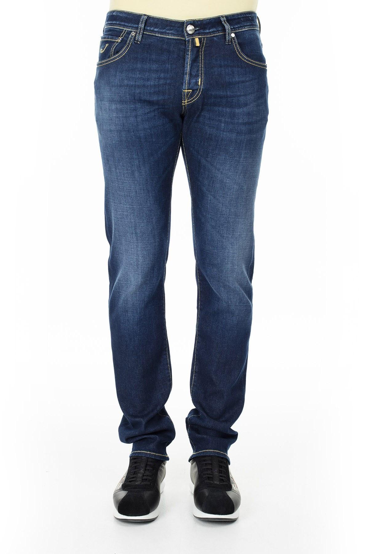 Jacob Cohen Jeans Erkek Kot Pantolon J622 919W1 001 LACİVERT