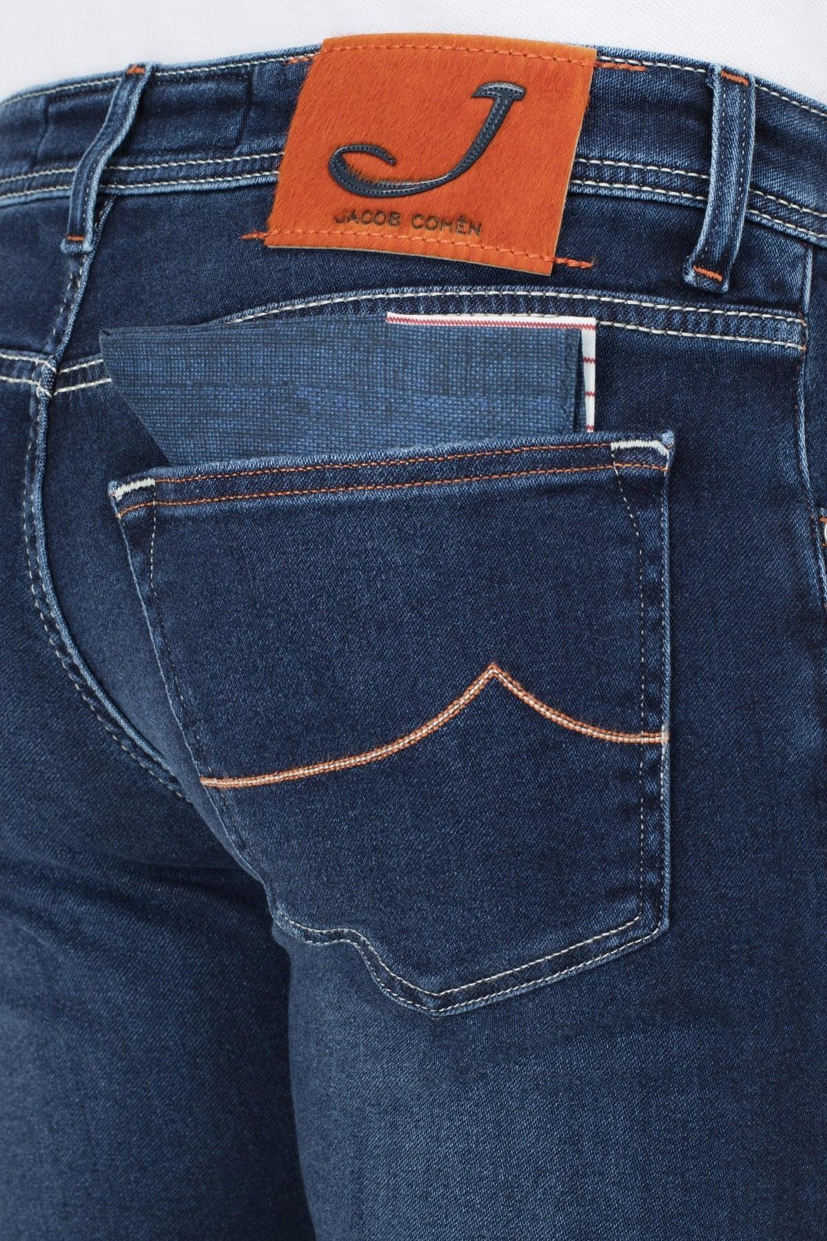 Jacob Cohen Jeans Erkek Kot Pantolon J622 973W2 002 LACİVERT