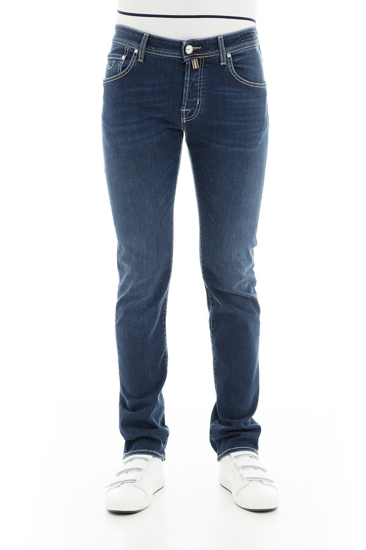 Jacob Cohen Jeans Erkek Kot Pantolon J62200514W2 C002 LACİVERT