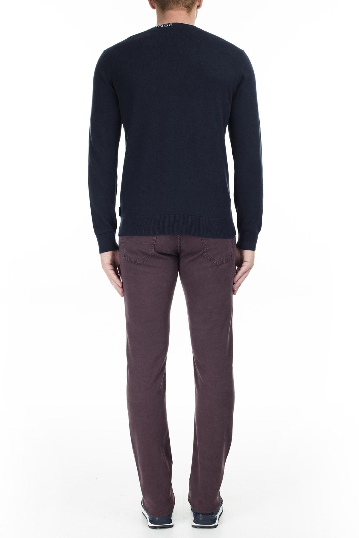 Jacob Cohen Jeans Erkek Pamuklu Pantolon J622 01644V 654 BORDO