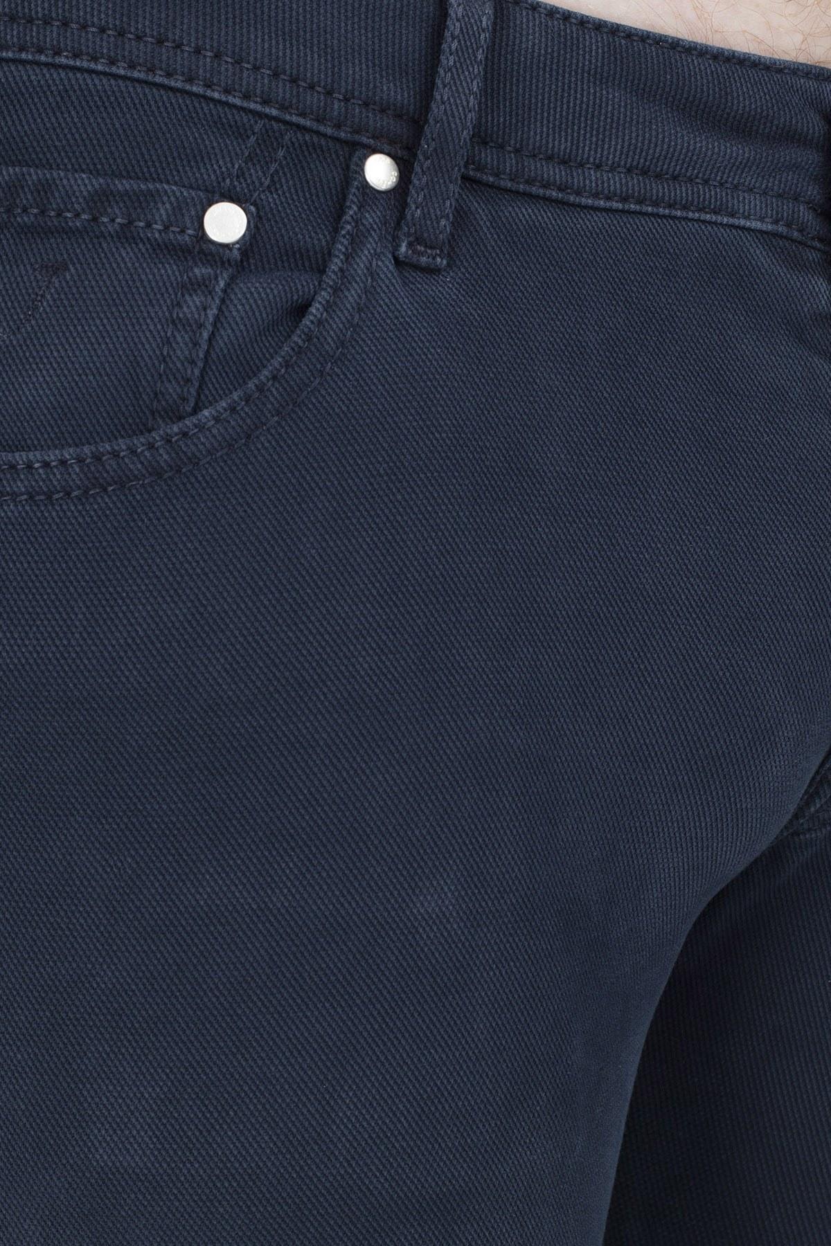 Jacob Cohen Jeans Erkek Pamuklu Pantolon J622 01644V 890 İNDİGO