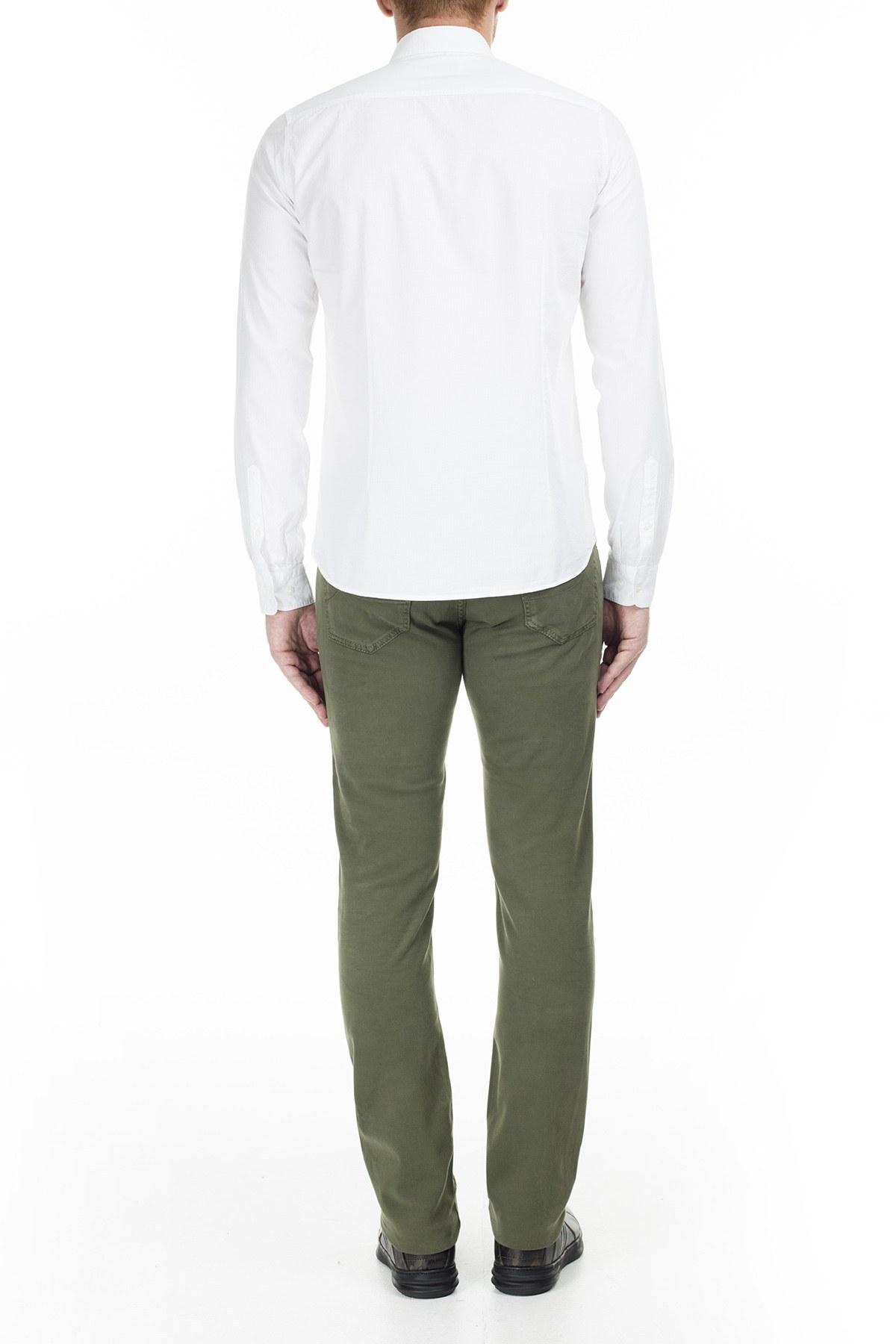 Jacob Cohen Jeans Erkek Pamuklu Pantolon J622 01651S 724 YEŞİL