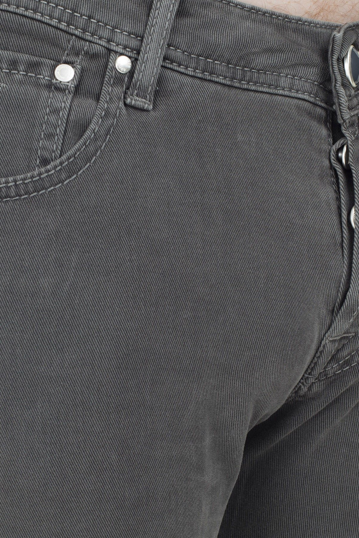 Jacob Cohen Jeans Erkek Pamuklu Pantolon J622 01651S 930 ANTRASİT