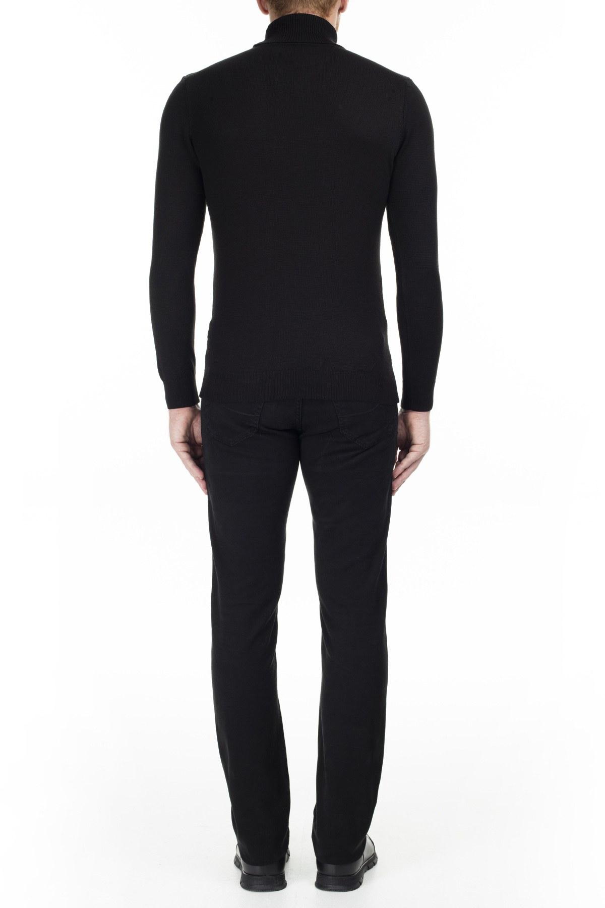 Jacob Cohen Jeans Erkek Pamuklu Pantolon J622 01651S 990 SİYAH