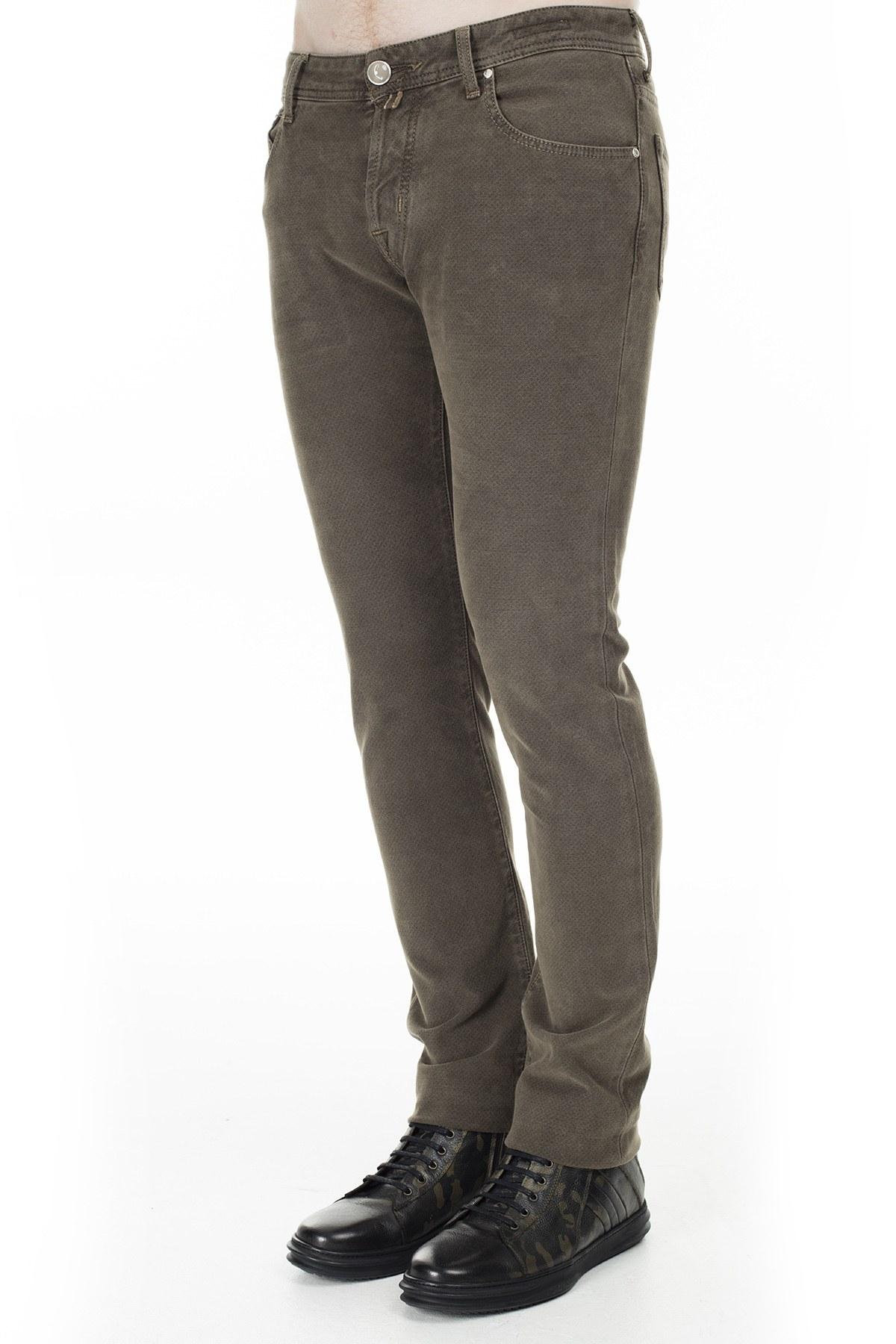 Jacob Cohen Jeans Erkek Pamuklu Pantolon J622 01661V 943 VİZON