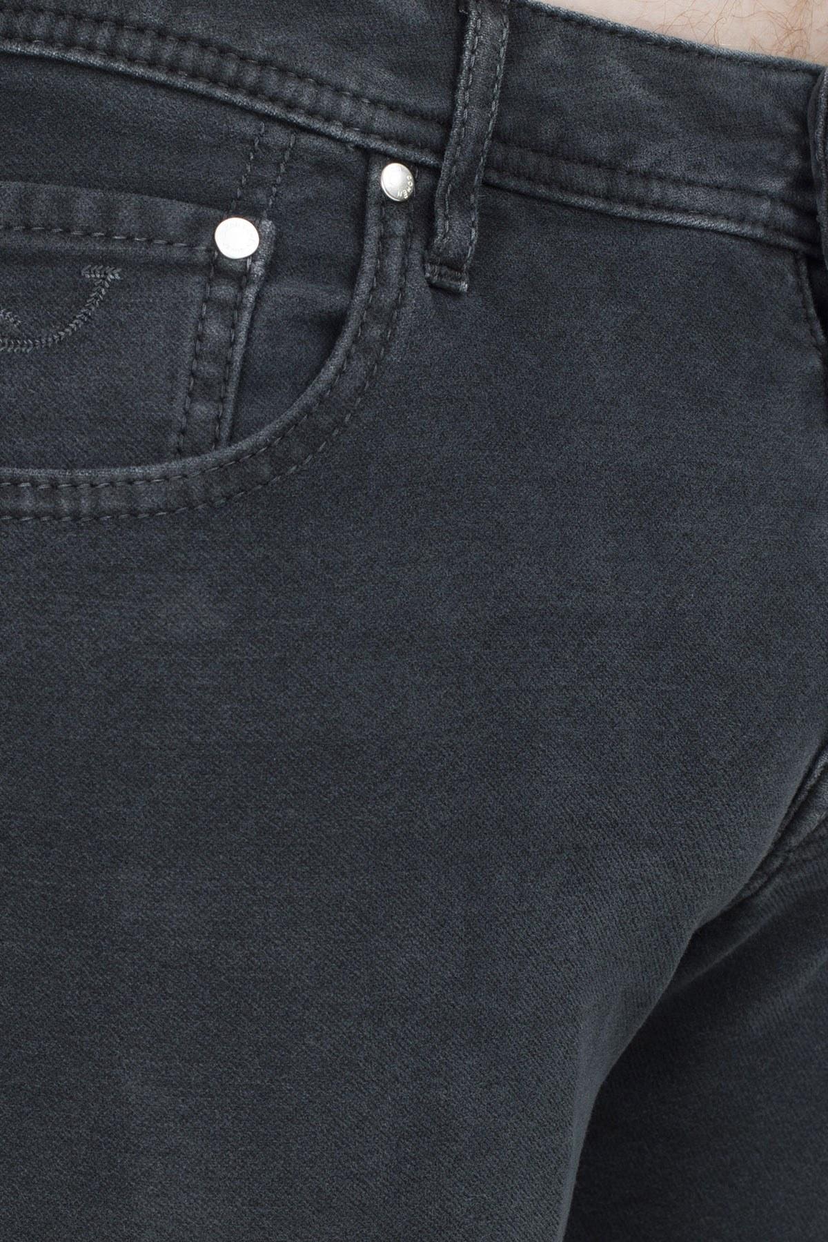 Jacob Cohen Jeans Erkek Pamuklu Pantolon J622 01661V 990 SİYAH