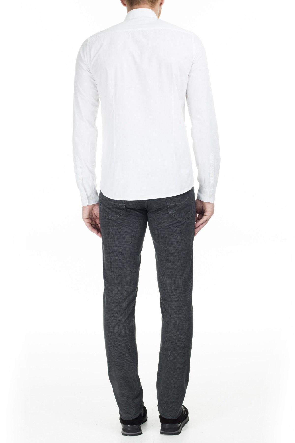 Jacob Cohen Jeans Erkek Pamuklu Pantolon J622 SLIM 01620S 930 ANTRASİT