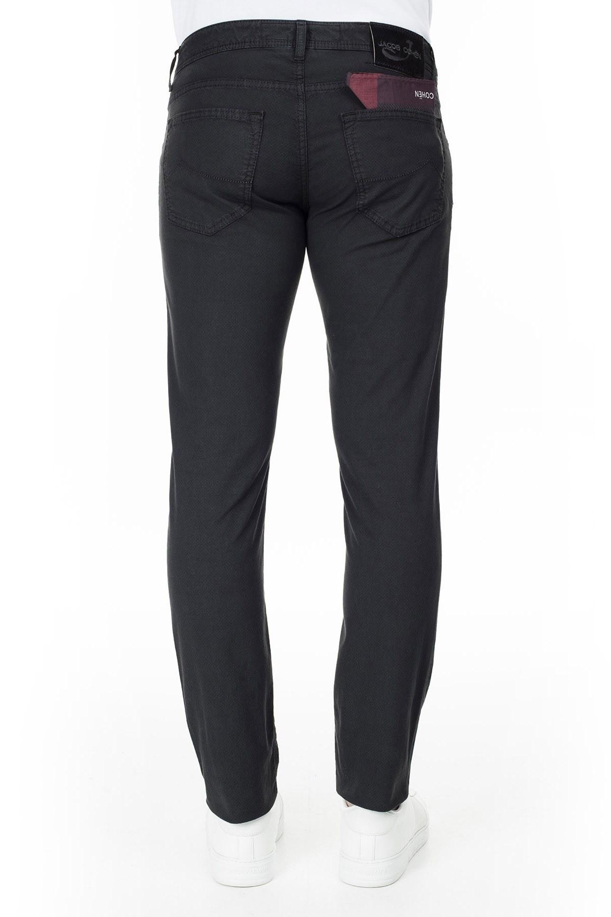 Jacob Cohen Jeans Erkek Pamuklu Pantolon J622 SLIM 1838S 990 SİYAH