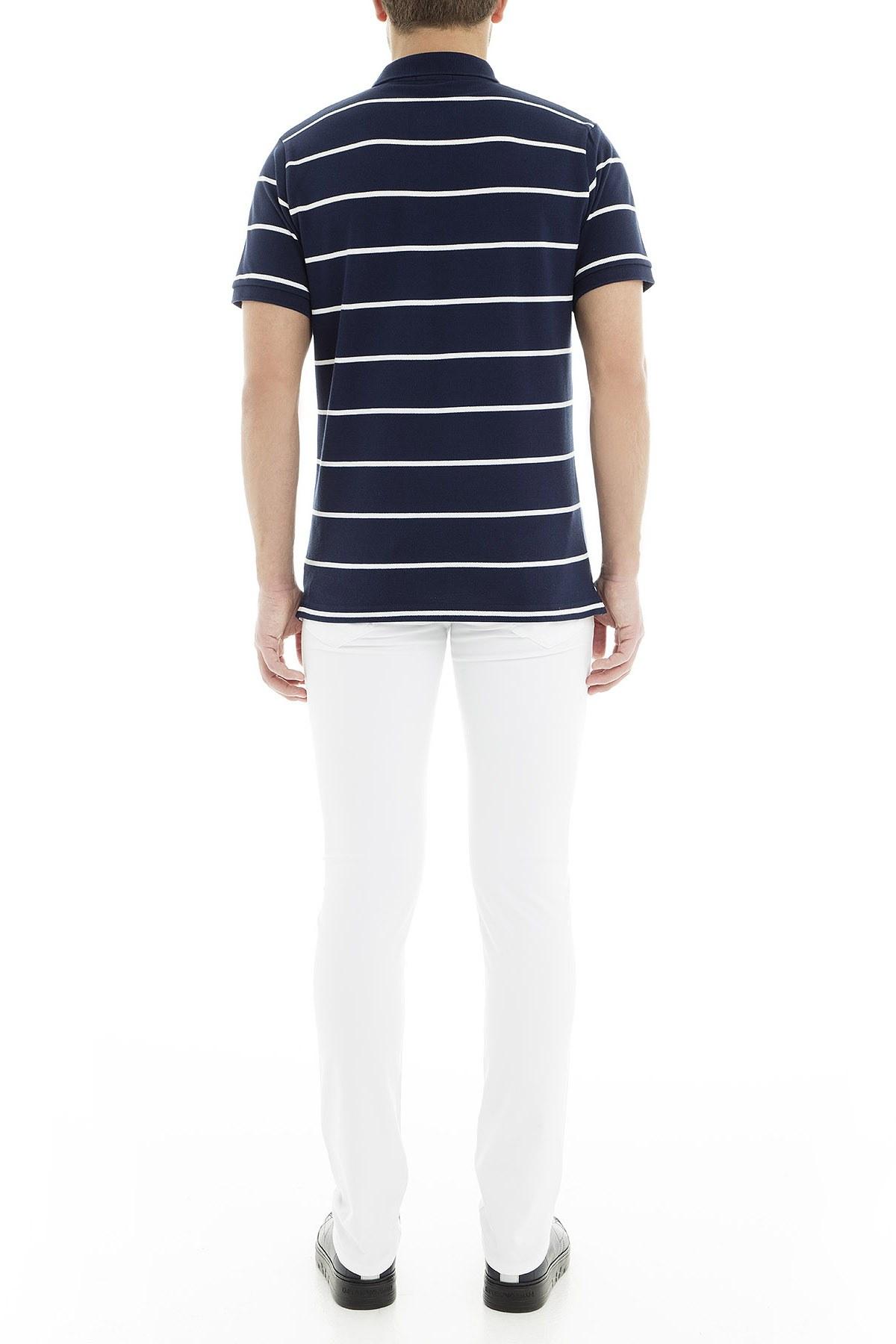 Jacob Cohen Jeans Erkek Pamuklu Pantolon J622566V 111 BEYAZ