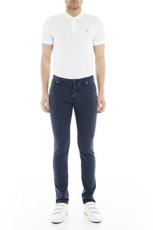 Jacob Cohen - Jacob Cohen Jeans Erkek Pamuklu Pantolon J622566V 866 KOYU LACIVERT