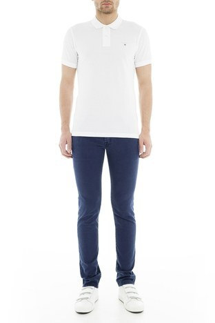 Jacob Cohen - Jacob Cohen Jeans Erkek Pamuklu Pantolon J622566V 871 LACİVERT
