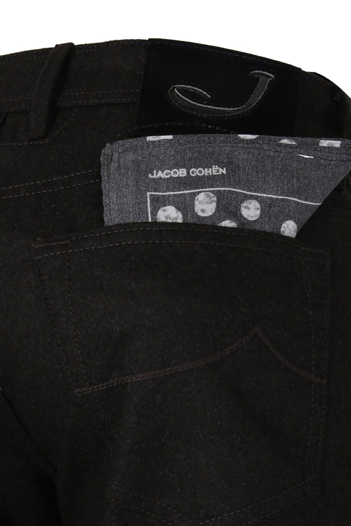JACOB COHEN JEANS Erkek Pamuklu Pantolon J622WOOLBCOMF06968N KAHVE