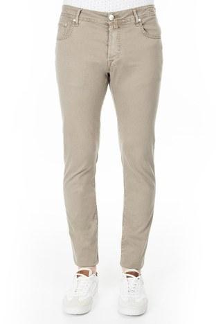 Jacob Cohen - Jacob Cohen Jeans Erkek Pamuklu Pantolon J688 566V 308 TOPRAK (1)