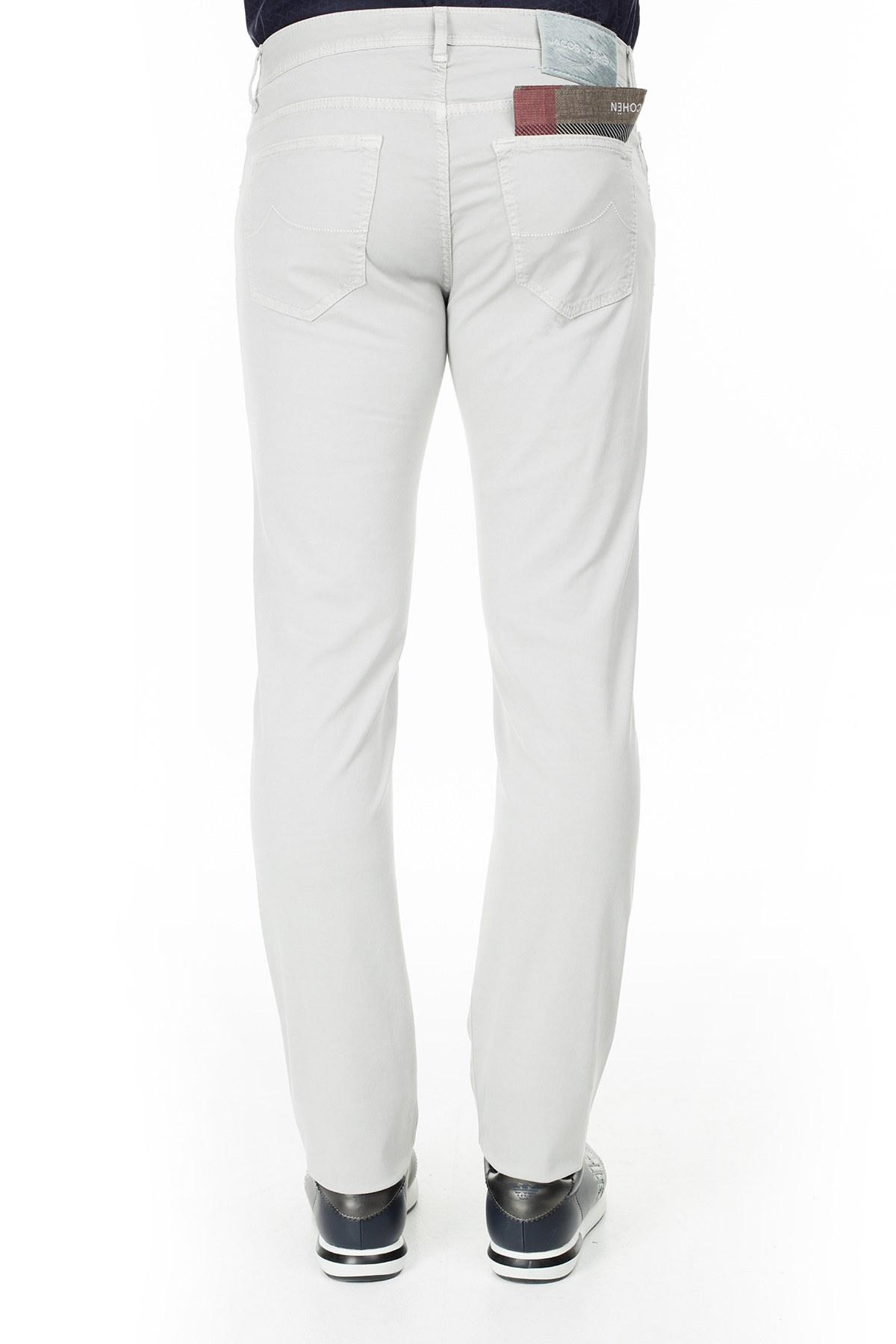 Jacob Cohen Jeans Erkek Pamuklu Pantolon J688 566V 921 TAŞ