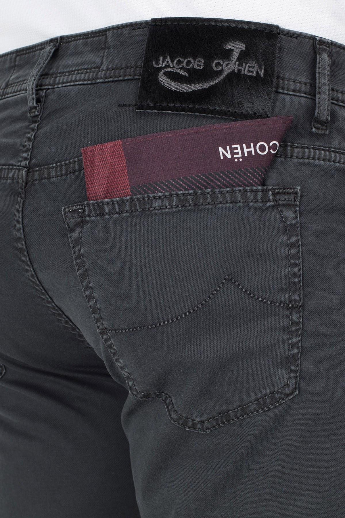 Jacob Cohen Jeans Erkek Pamuklu Pantolon J688 566V 990 ANTRASİT