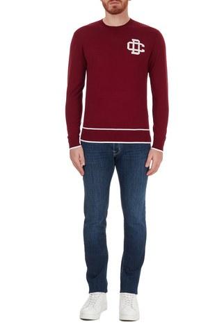 Jacob Cohen - Jacob Cohen Pamuklu Jeans Erkek Kot Pantolon J622 00709W2 MAVİ