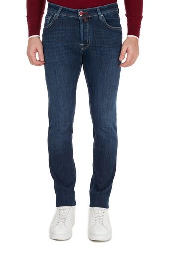 Jacob Cohen Pamuklu Jeans Erkek Kot Pantolon J622 00709W2 MAVİ