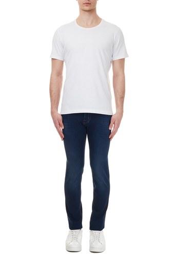 Jacob Cohen Slim Fit Jeans Erkek Kot Pantolon J622 SLIM 02048W2 LACİVERT