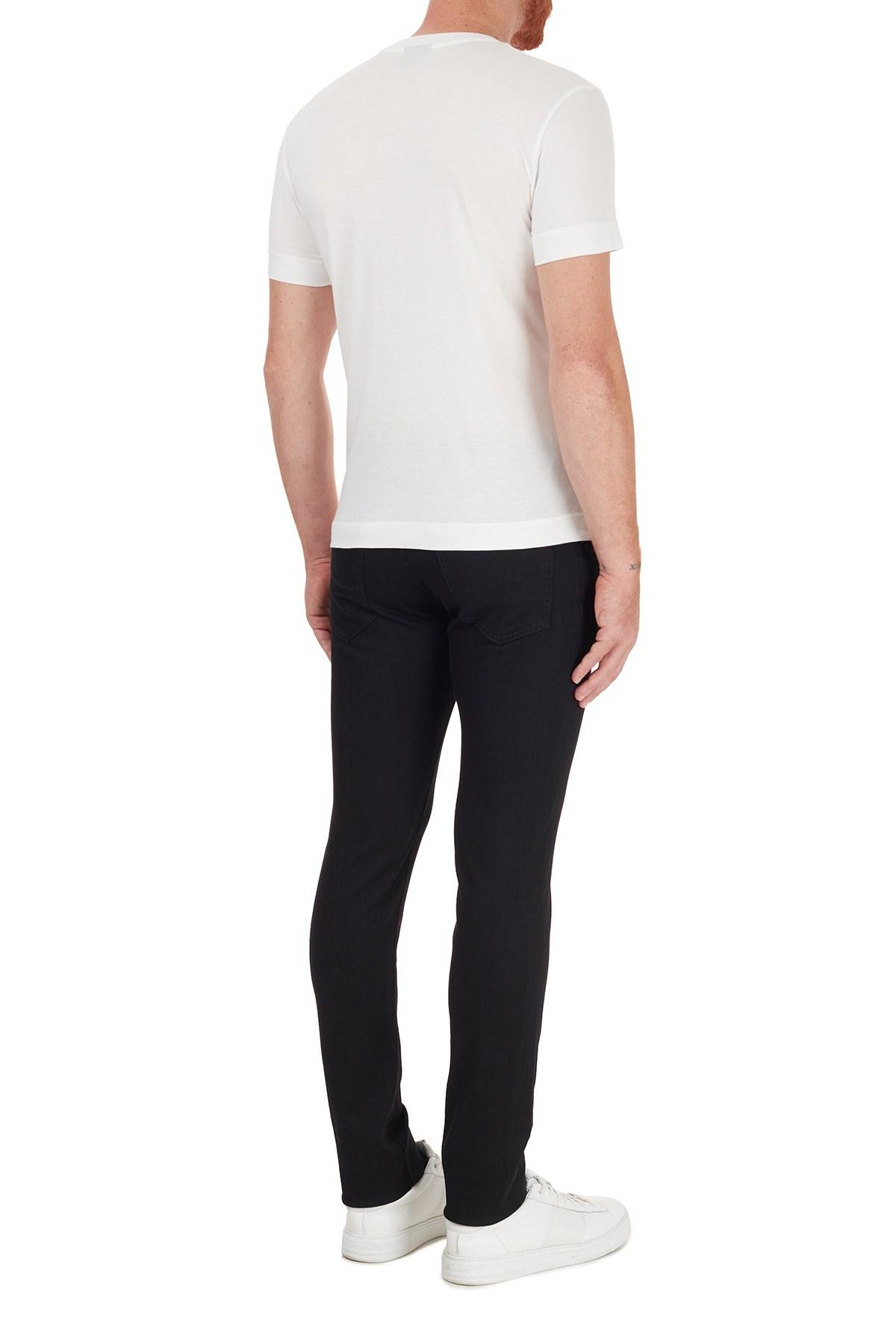 Jacob Cohen Slim Fit Pamuklu Jeans Erkek Kot Pantolon J622 SLIM 01789W1 SİYAH