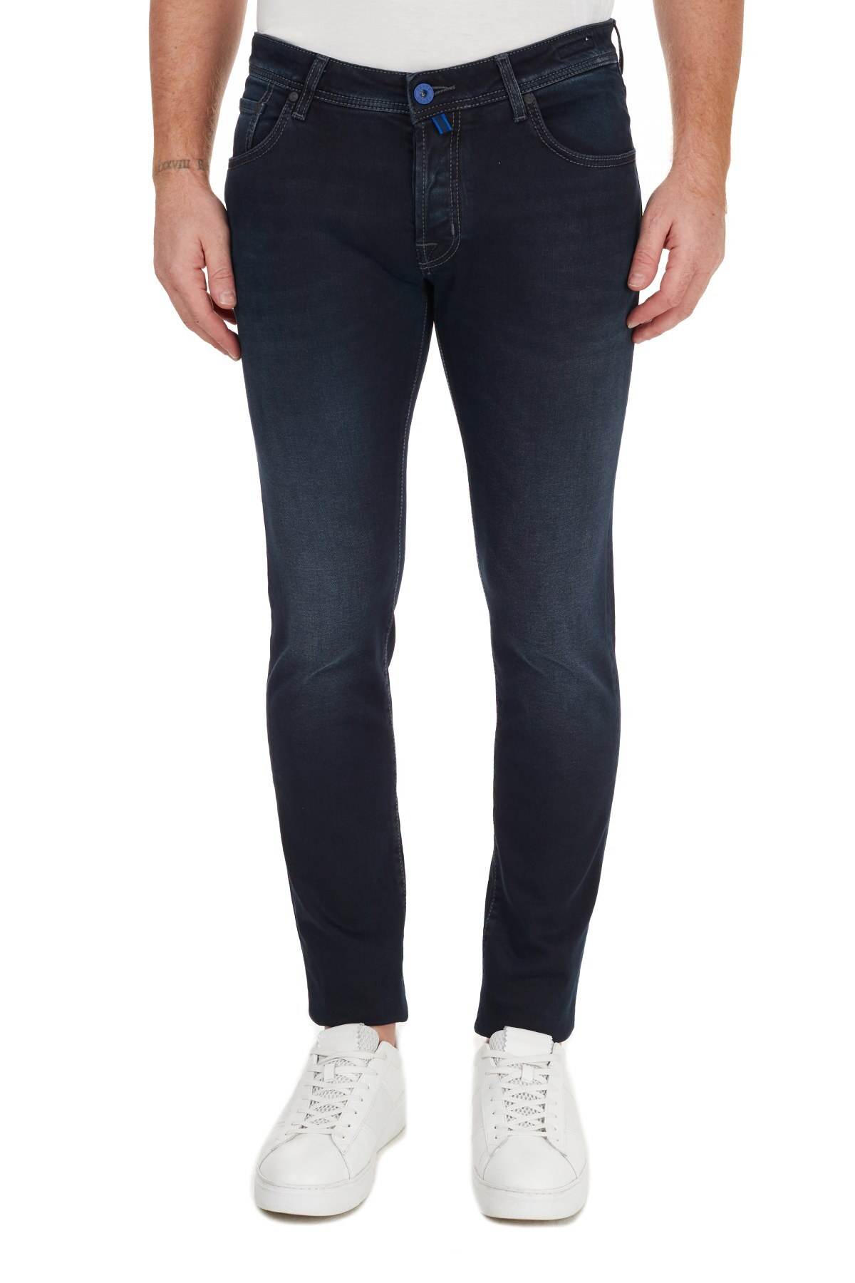 Jacob Cohen Slim Fit Pamuklu Jeans Erkek Kot Pantolon J622 SLIM 02060W2 LACİVERT