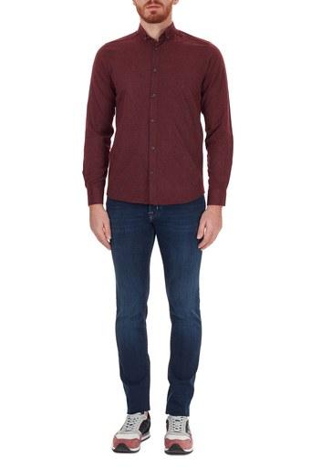 Jacob Cohen Slim Fit Pamuklu Jeans Erkek Kot Pantolon J622 SLIM 08364W1 LACİVERT