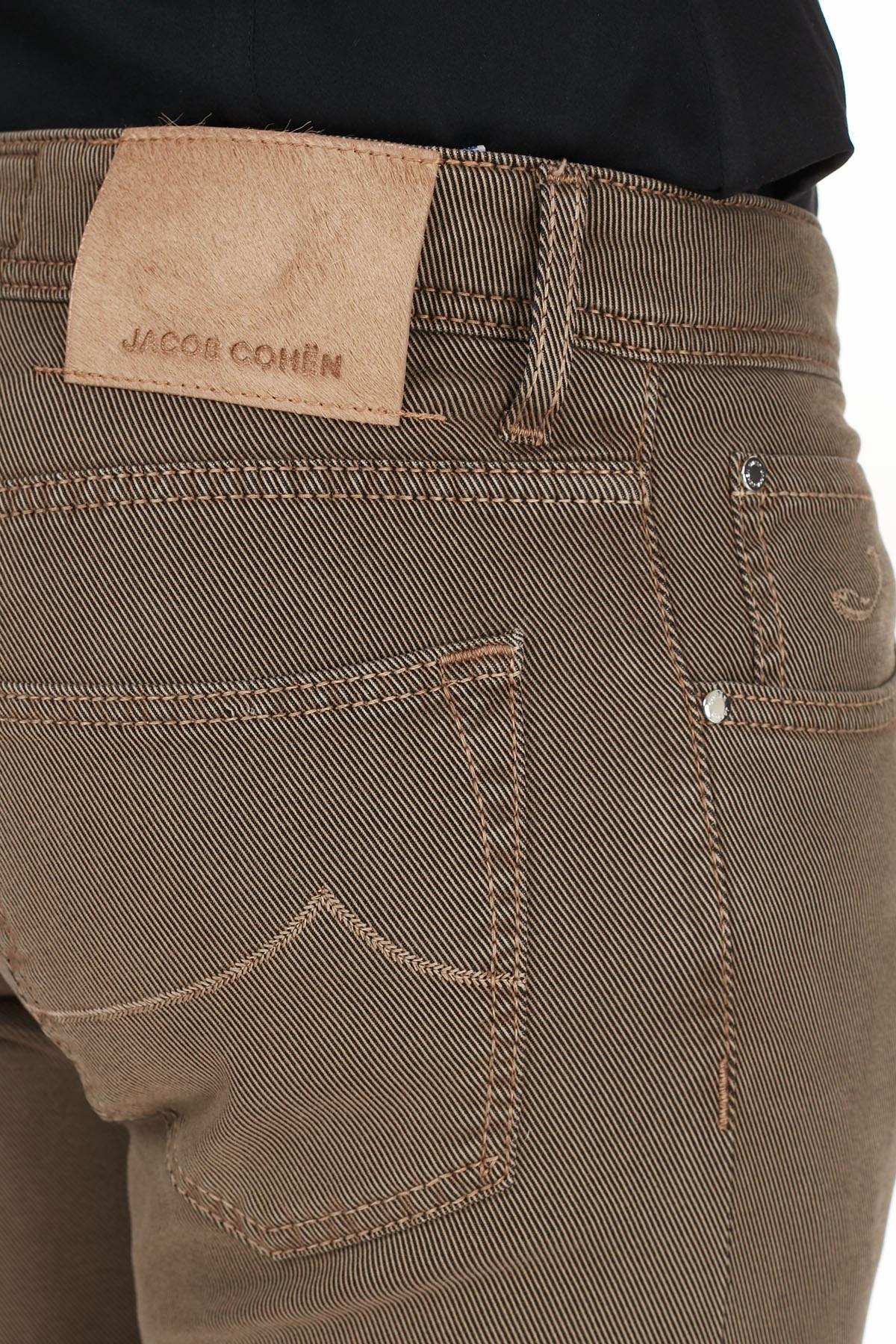 Jacob Cohen Jeans Erkek Pamuklu Pantolon J622 SLIM 02090V 943 TABA