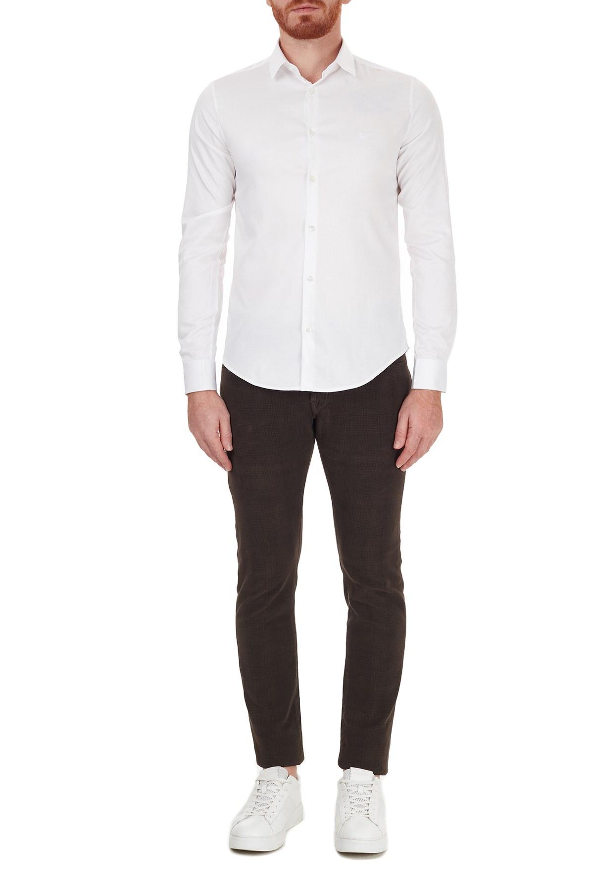 Jacob Cohen Jeans Erkek Pamuklu Pantolon J622 SLIM 02092S 480 KAHVE
