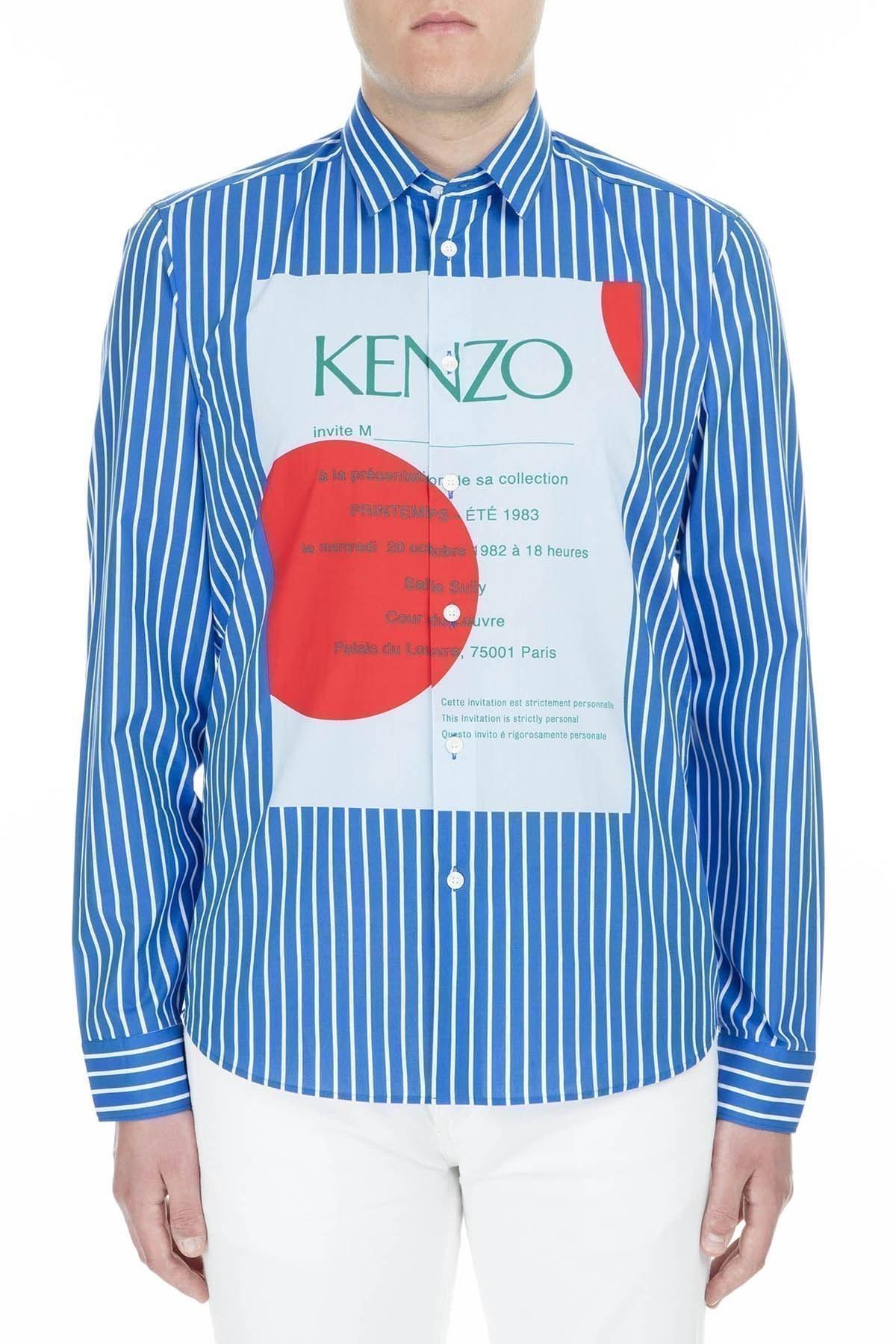 Kenzo Erkek Gömlek F95 5CH224 1KL 70 SAKS