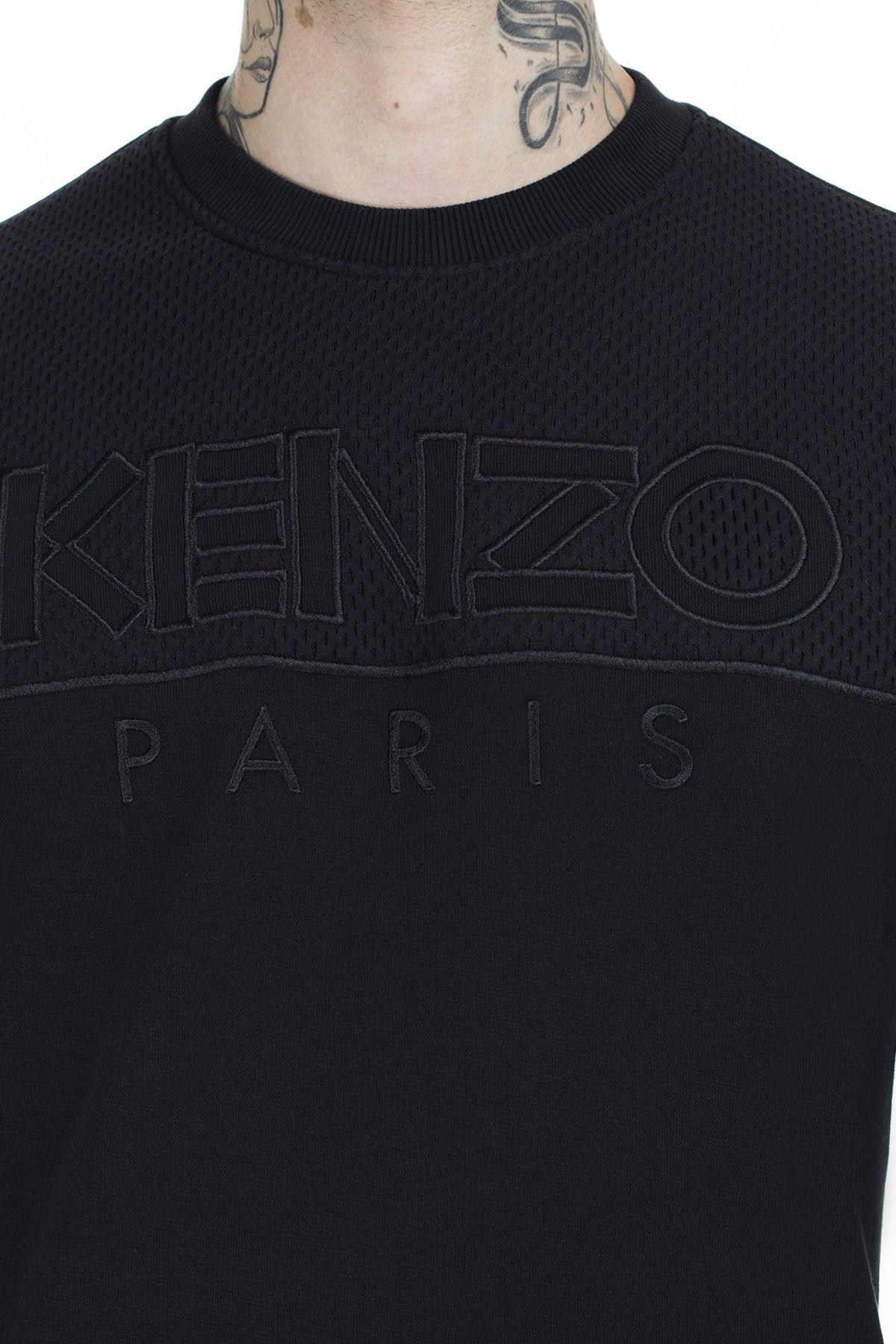 Kenzo Erkek Sweat F96 5SW104 4MC 99 SİYAH
