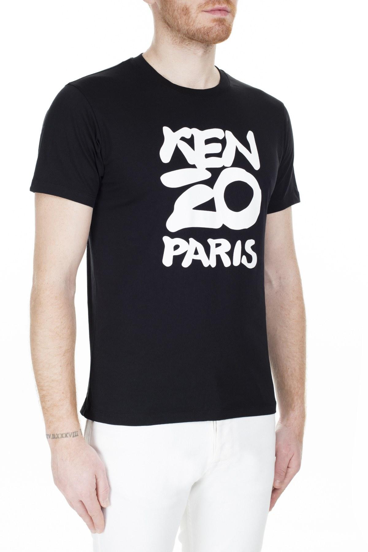 Kenzo Erkek T Shirt FA5 5TS018 4SA 99 SİYAH