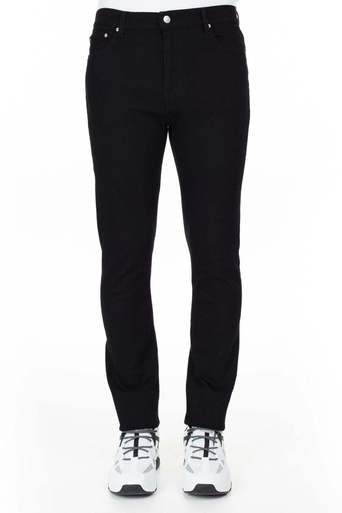 Kenzo Jeans Erkek Kot Pantolon FA5 5PA550 2ED 99 SİYAH