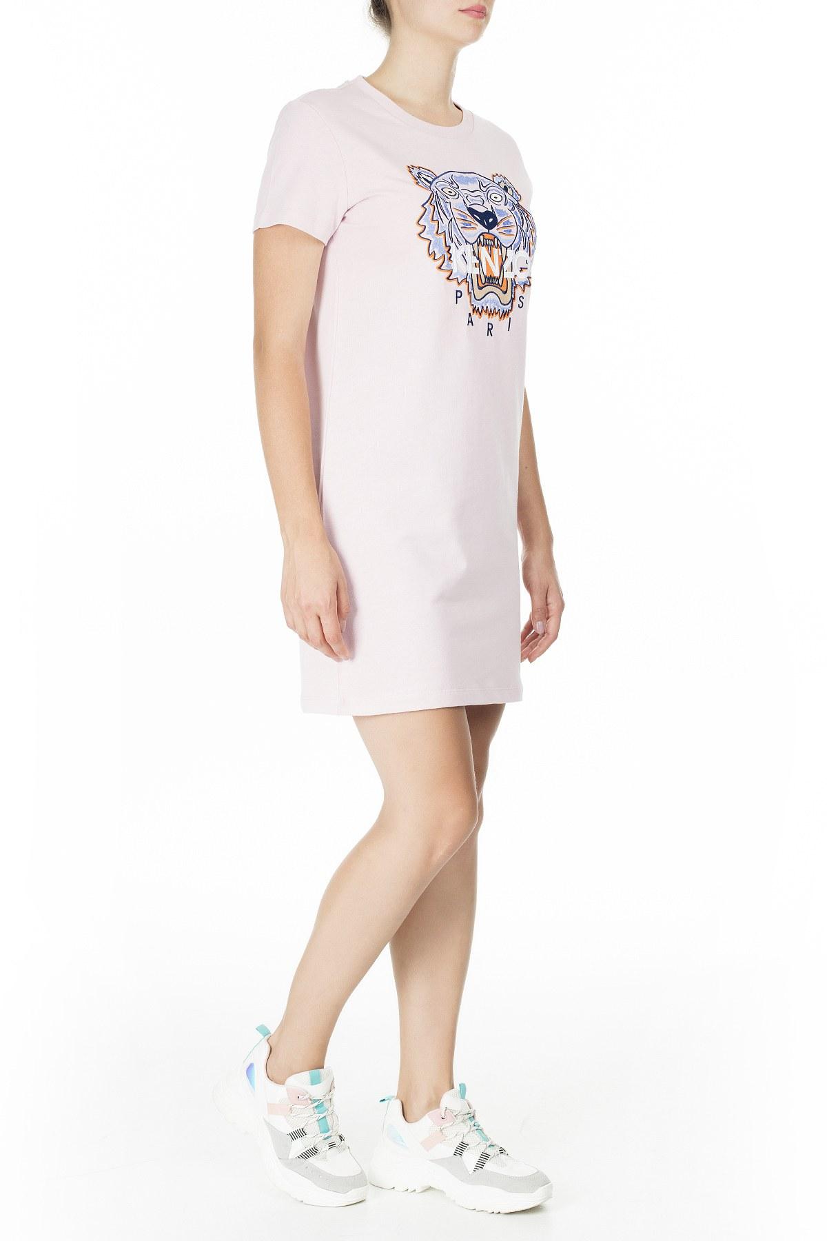 Kenzo Kadın Elbise FA5 2RO851 4YE 34 PUDRA
