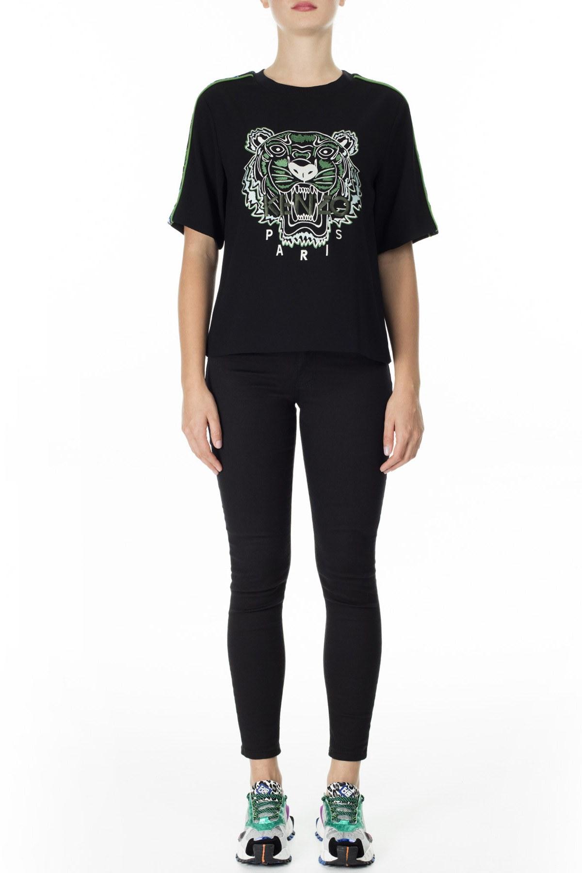 Kenzo Kadın T Shirt FA5 2TO176 5AC 59 SİYAH