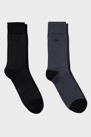 Lacoste - Lacoste 2 Pack Erkek Çorap RA2216 16S SİYAH