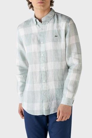 Lacoste - Lacoste Erkek Gömlek CH0114 14Y AÇIK YEŞİL