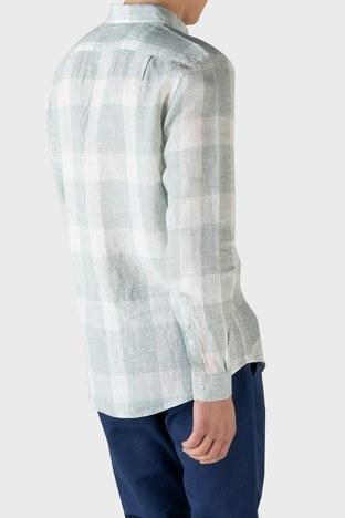 Lacoste - Lacoste Erkek Gömlek CH0114 14Y AÇIK YEŞİL (1)