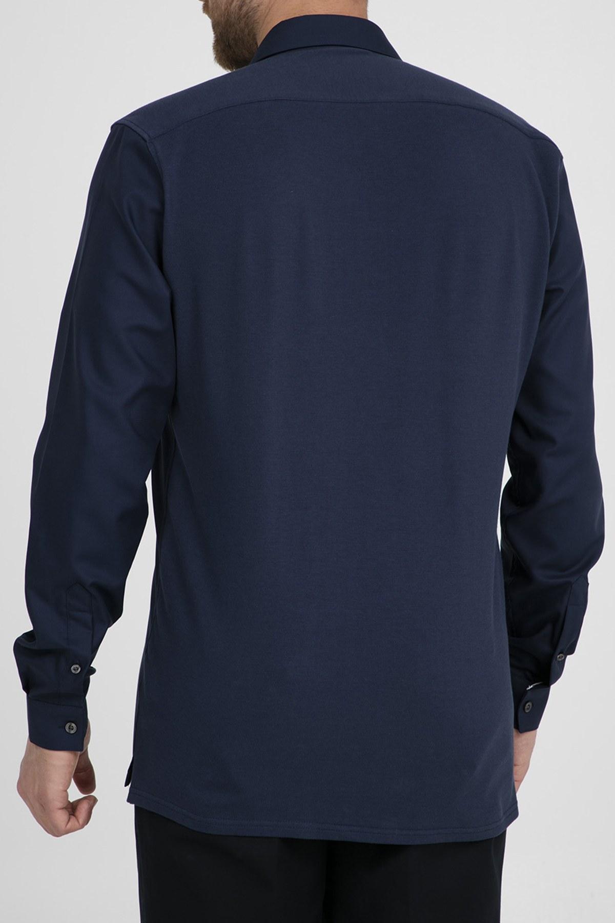 Lacoste Erkek Gömlek CH0704 166 LACİVERT