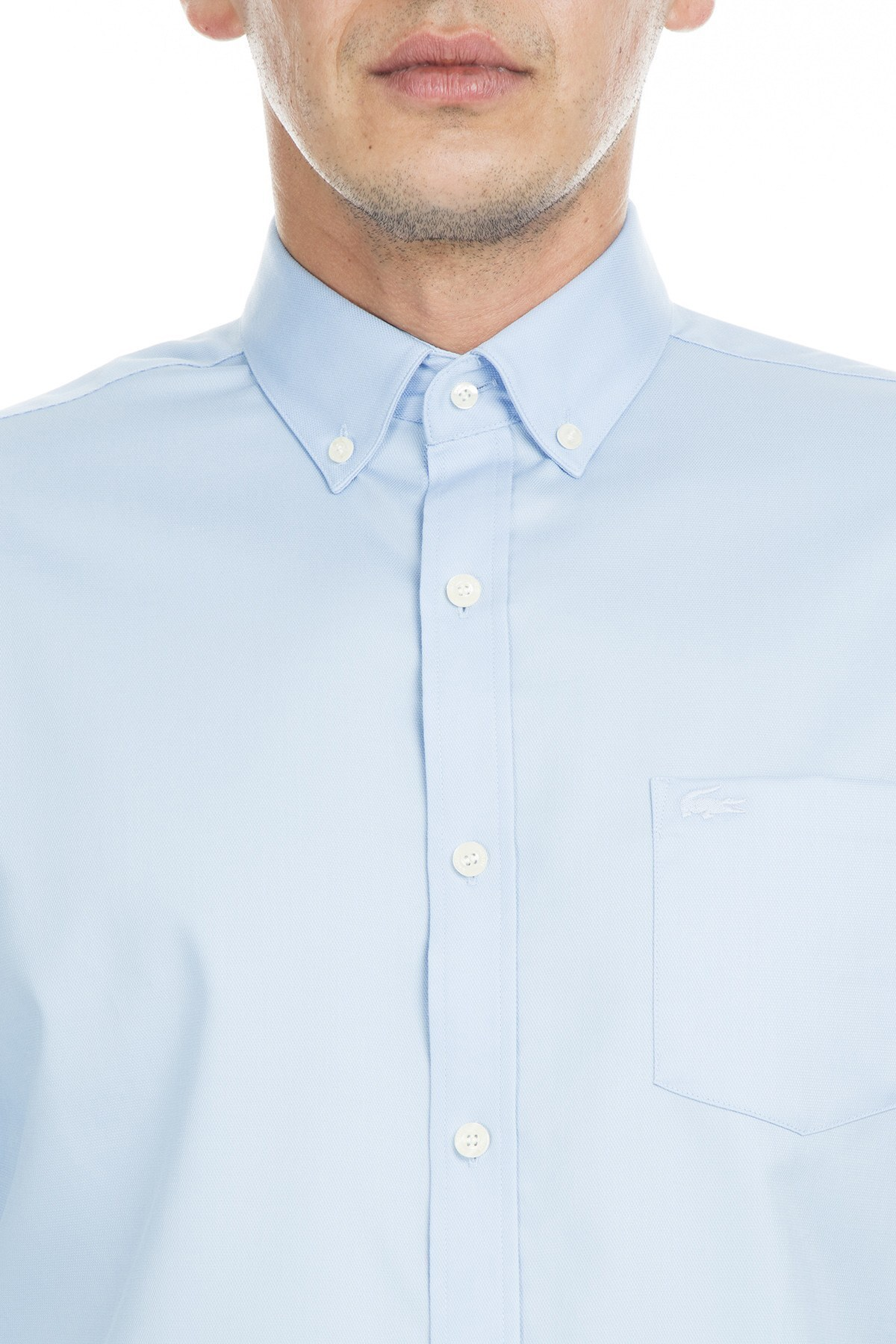Lacoste Erkek Gömlek CH9623 6ZM MAVİ
