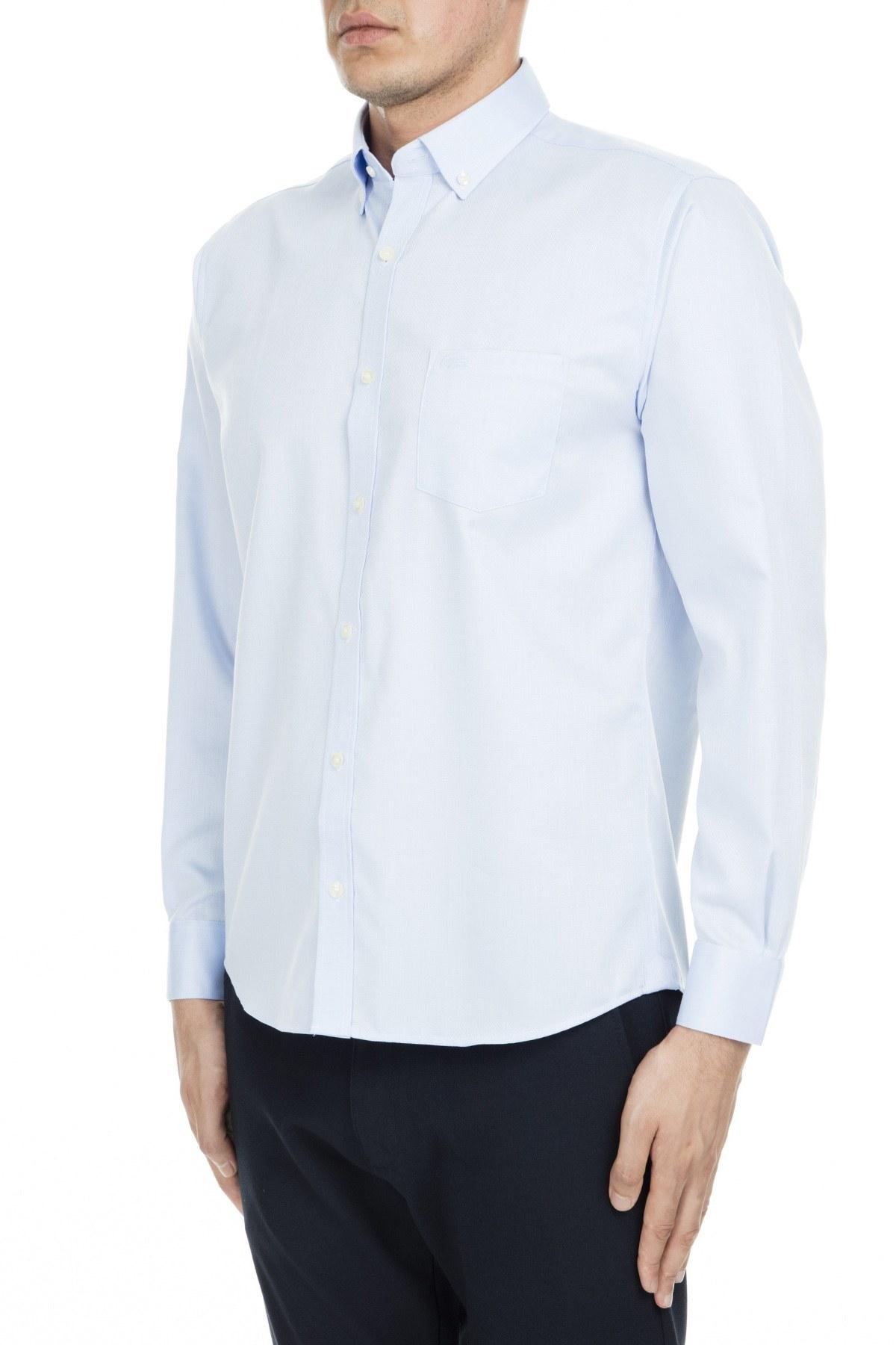 Lacoste Erkek Gömlek CH9623 S14 AÇIK MAVİ