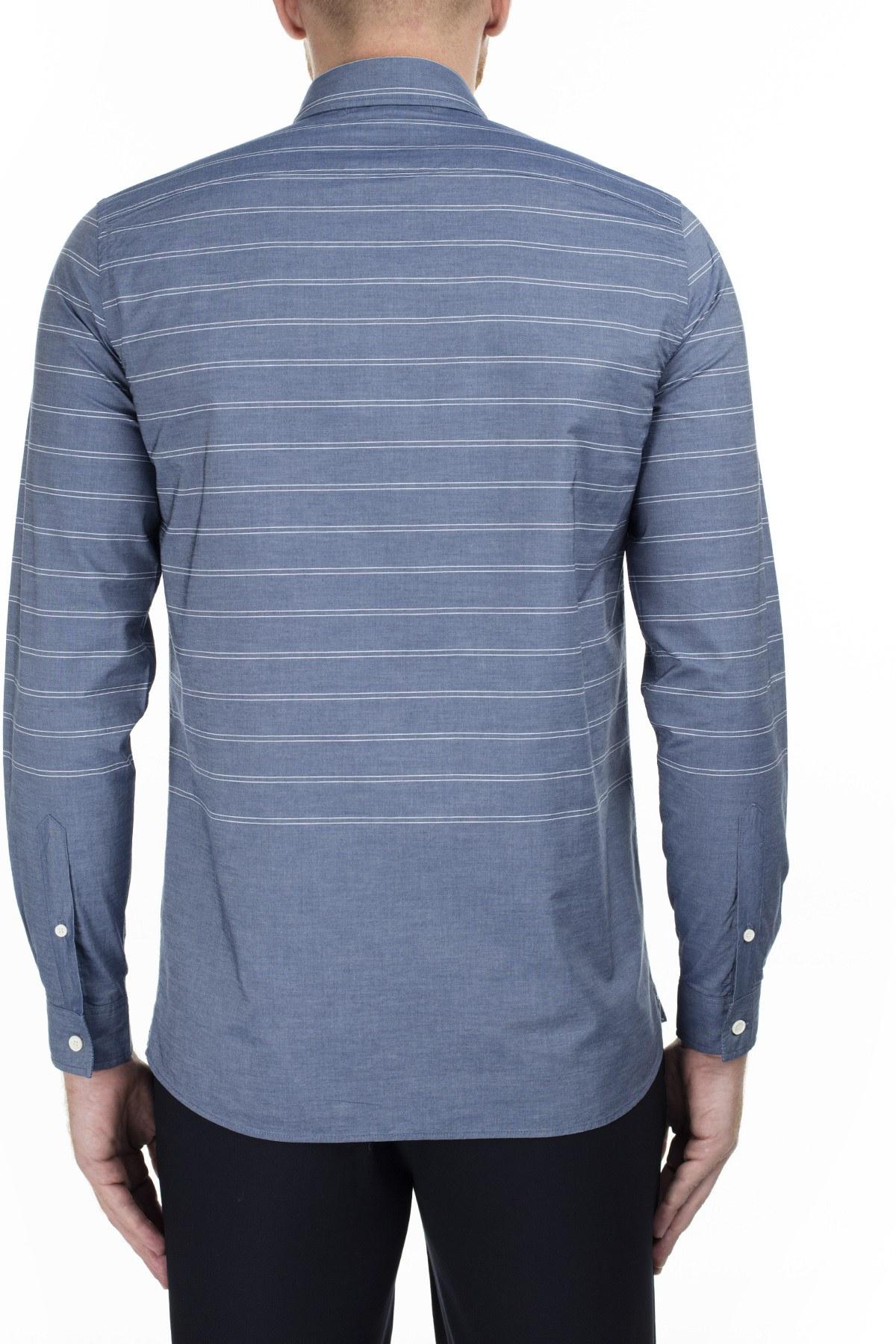 Lacoste Erkek Gömlek S CH0935 HHW MAVİ