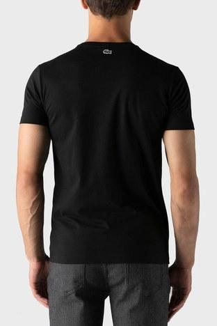 Lacoste - Lacoste Erkek T Shirt TH2207 07S SİYAH (1)