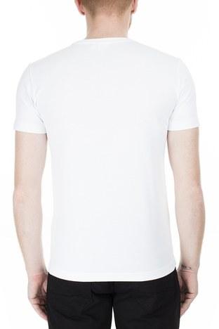 Lacoste - Lacoste Erkek T Shirt TH4887 SY4 BEYAZ (1)