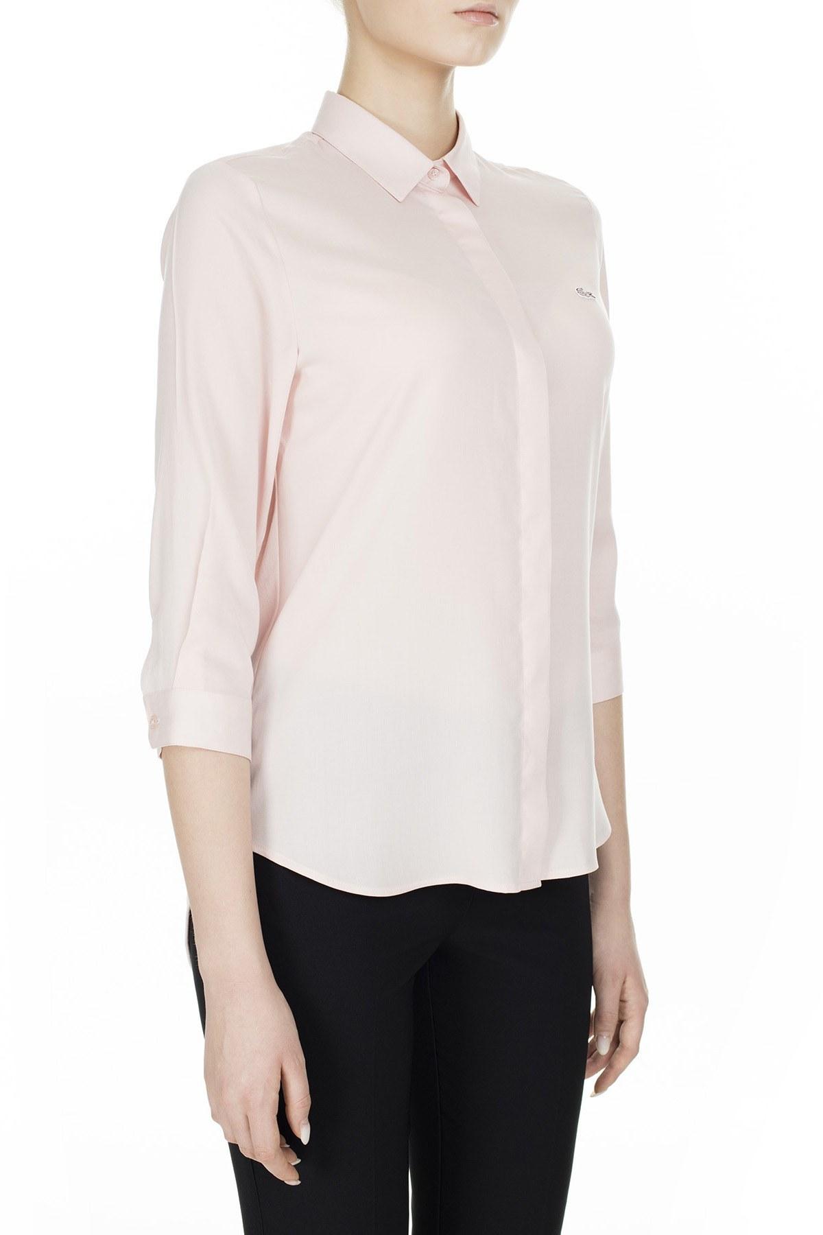 Lacoste Kadın Gömlek CF0812 12E AÇIK PEMBE