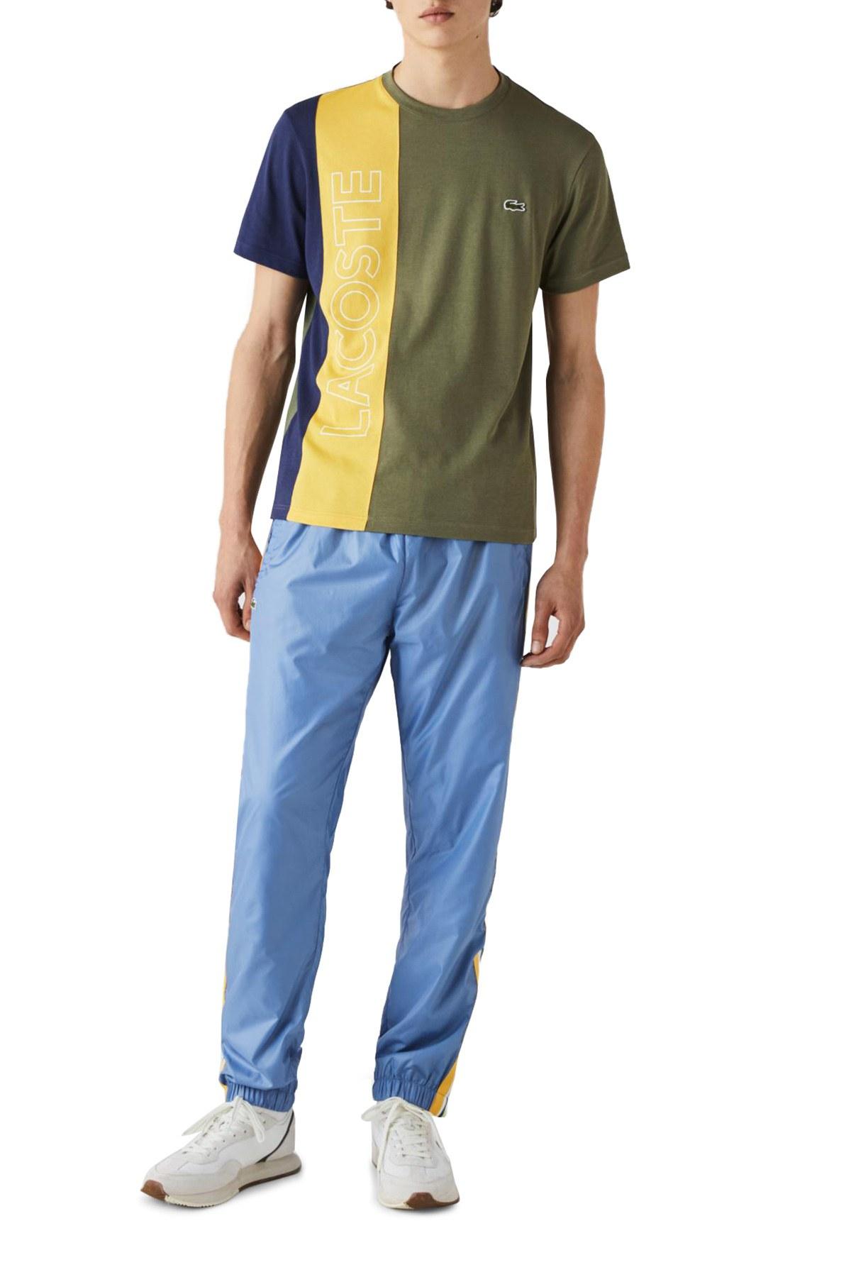 Lacoste Pamuklu Regular Fit Erkek T Shirt TH0113 XHR HAKİ