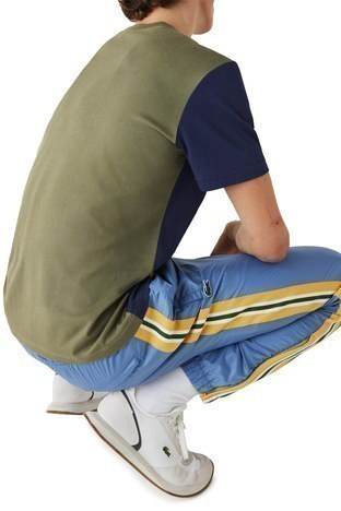Lacoste - Lacoste Pamuklu Regular Fit Erkek T Shirt TH0113 XHR HAKİ (1)