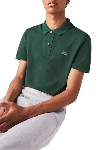 Lacoste Pamuklu Slim Fit T Shirt Erkek Polo PH4012132 L YEŞİL