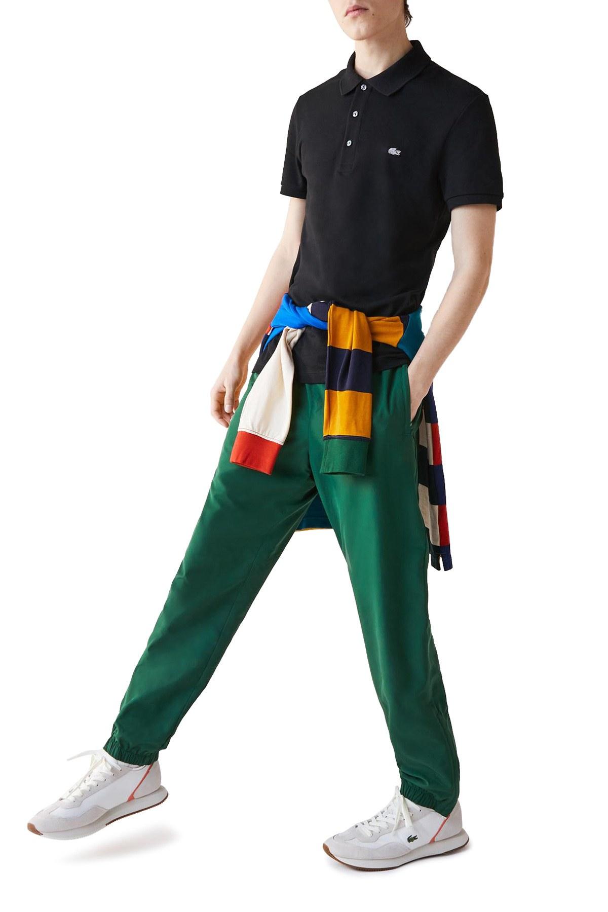 Lacoste T Shirt Erkek Polo PH4014 031 SİYAH